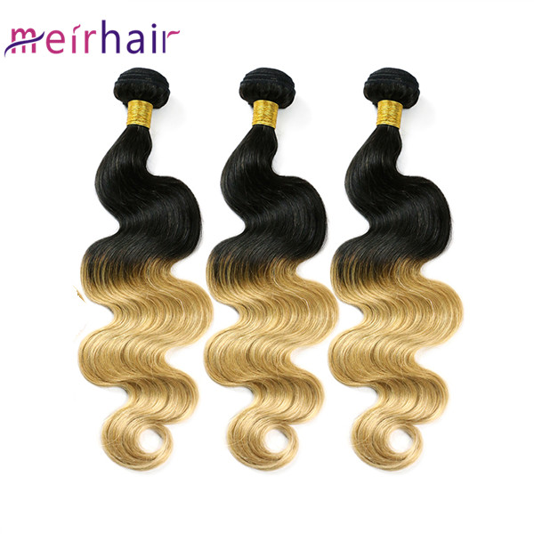 Ombre Tb27 Human Hair Extensions Tangle-free
