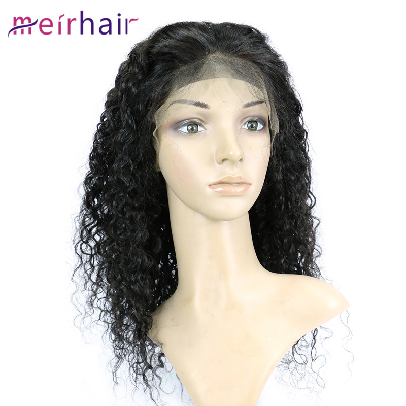 Lace Front Wigs Italy Curly Wave Human Hair Wigs Natural Hairline